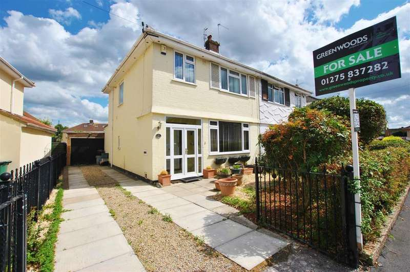 3 Bedrooms Semi Detached House for sale in Fanshawe Road, Whitchurch, Bristol