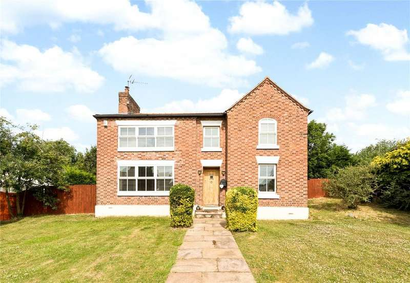 4 Bedrooms Detached House for sale in Church Road, Saughall, Chester, CH1