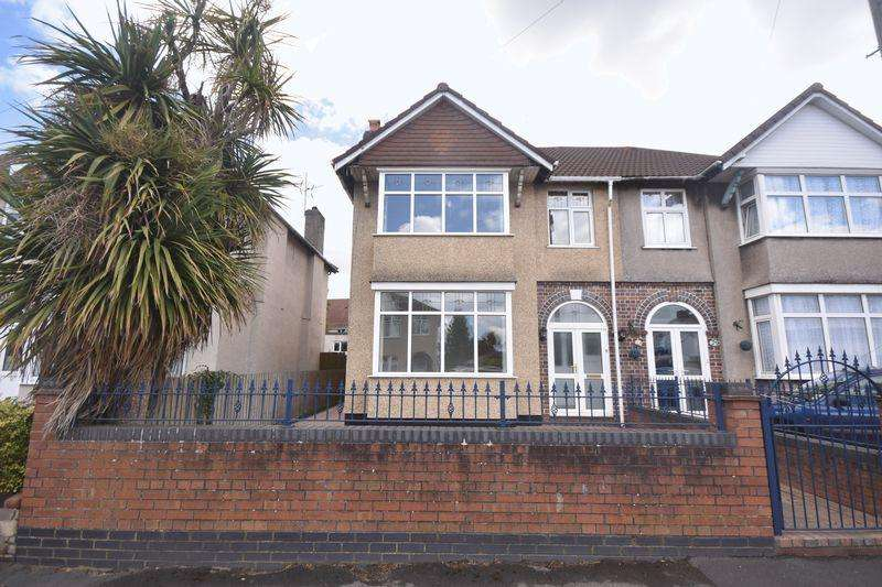 3 Bedrooms Semi Detached House for sale in Holdenhurst Road Kingswood