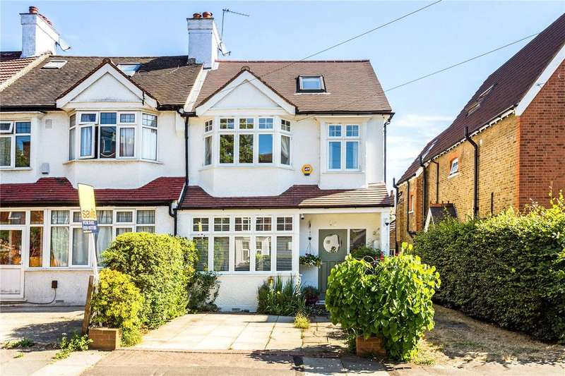 4 Bedrooms End Of Terrace House for sale in Salisbury Road, London, SW19