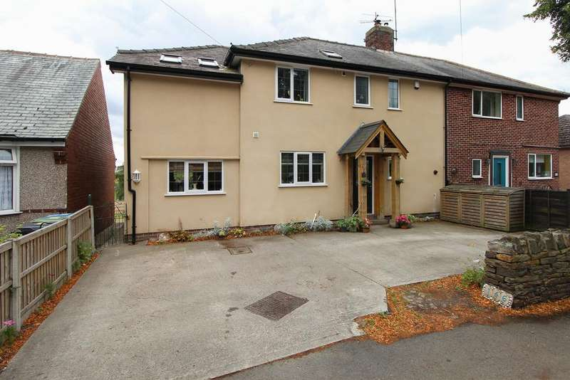 4 Bedrooms Semi Detached House for sale in Langer Lane, Chesterfield