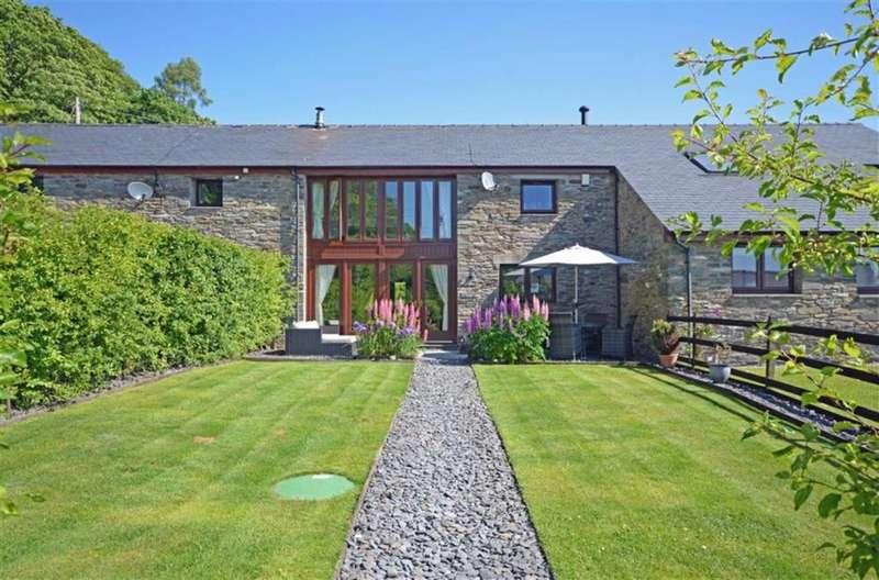 3 Bedrooms Barn Conversion Character Property for sale in Duddon View, Duddon Bridge, Cumbria