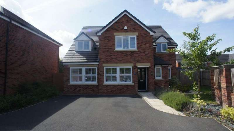 5 Bedrooms Detached House for sale in Murray Avenue, Leyland, Preston PR26 6PY