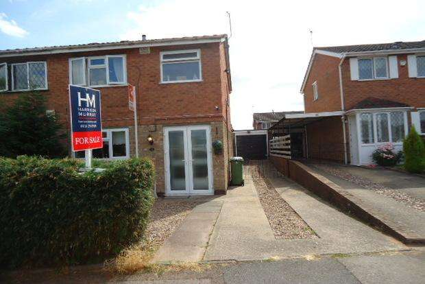 3 Bedrooms Semi Detached House for sale in Bramble Way, Braunstone, Leicester, LE3