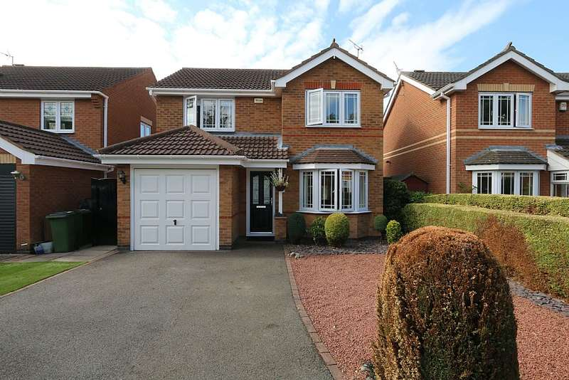 3 Bedrooms Detached House for sale in Pendragon Way, Leicester Forest East, Leicester, Leicestershire, LE3 3EY