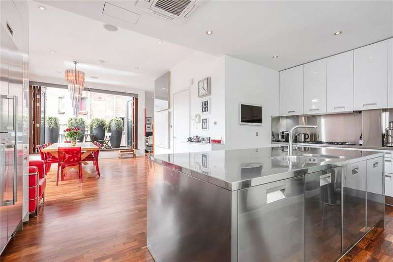 3 Bedrooms Penthouse Flat for sale in St. John's Path, Clerkenwell, London, EC1M