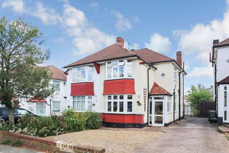 3 Bedrooms Semi Detached House for sale in Elmstead Avenue, Chislehurst, Kent, BR7 6EE