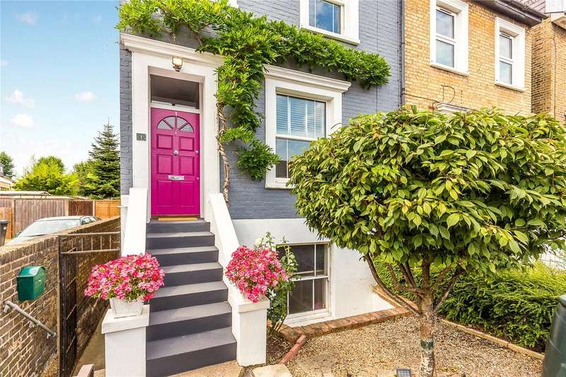 3 Bedrooms End Of Terrace House for sale in Grove Road, Brentford, Middlesex, TW8