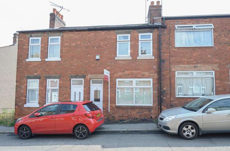 2 Bedrooms Terraced House for sale in Sterland Street, Chesterfield