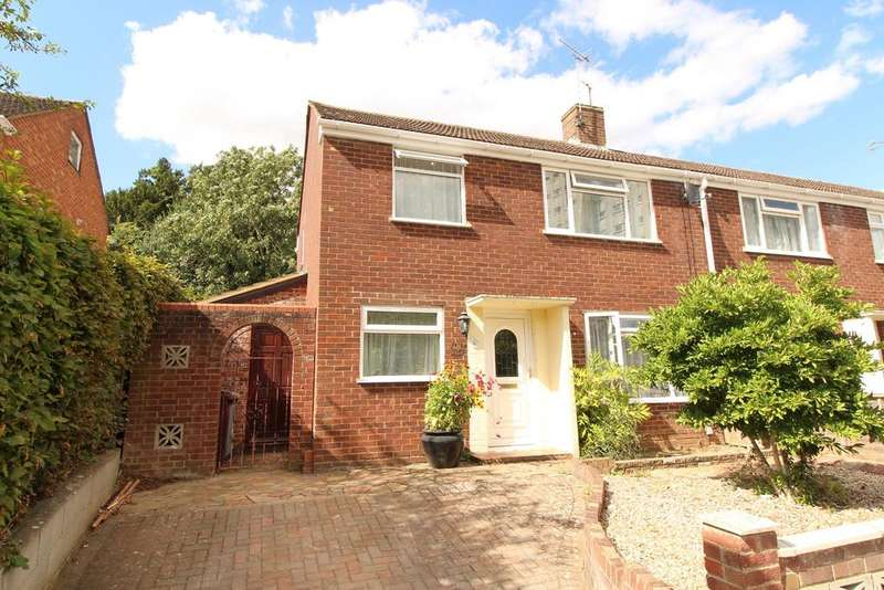 3 Bedrooms End Of Terrace House for sale in Wensley Road, Reading, RG1 6DP