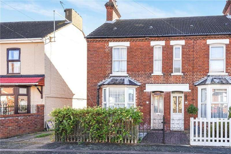 3 Bedrooms End Of Terrace House for sale in Park Road, Kempston, Bedford, Bedfordshire