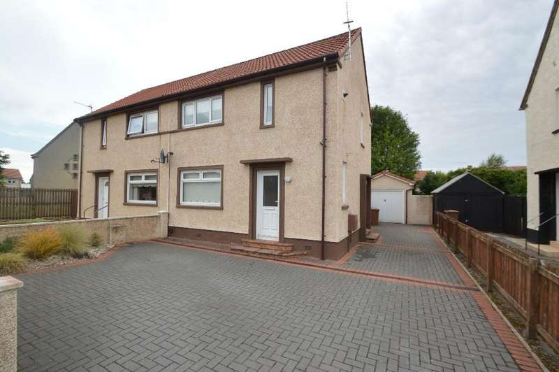 2 Bedrooms Semi Detached House for sale in Caldon Road, Irvine, North Ayrshire, KA12 0RH