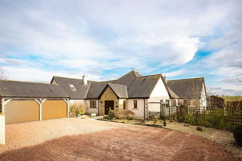 5 Bedrooms Detached House for sale in Burnside Lodge, Ravelaw, Near Whitsome, Berwickshire