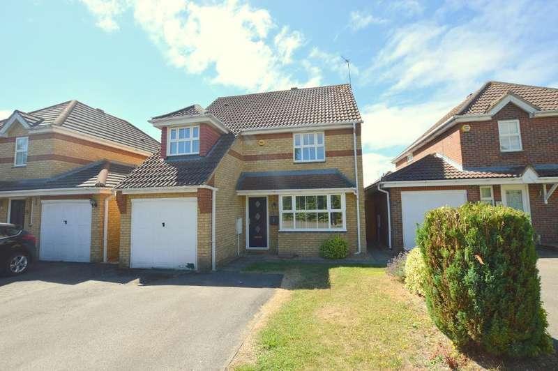 4 Bedrooms Detached House for sale in Arnald Way, Houghton Regis, Bedfordshire, LU5 5UN