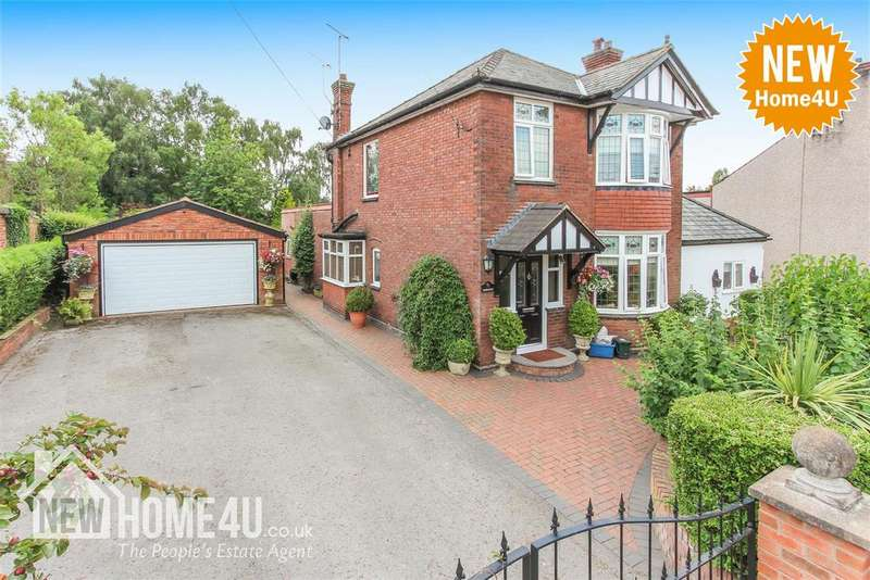 4 Bedrooms Detached House for sale in Mold Road, Buckley