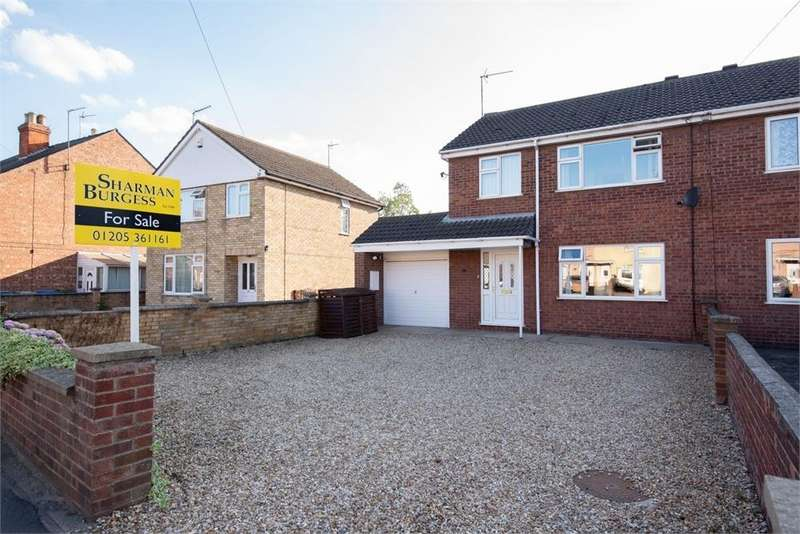 3 Bedrooms Semi Detached House for sale in Woodville Road, Boston, Lincolnshire