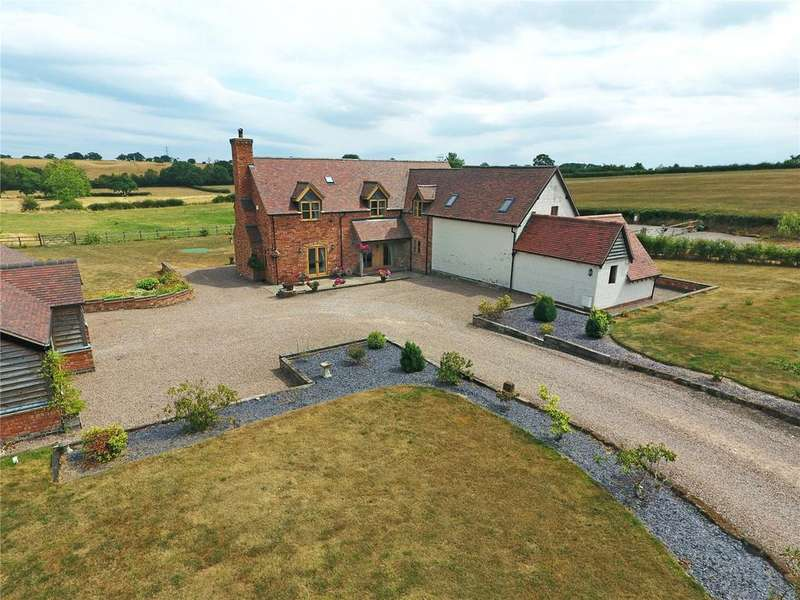 4 Bedrooms Detached House for sale in Hanbury, Bromsgrove, Worcestershire