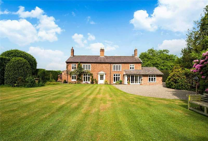5 Bedrooms Detached House for sale in Haughton, Tarporley, Cheshire, CW6