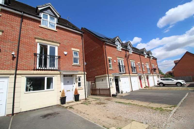 4 Bedrooms End Of Terrace House for sale in Haddon Way, Loughborough