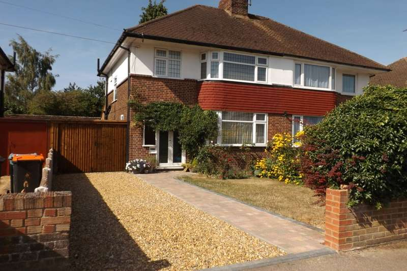 3 Bedrooms Semi Detached House for sale in Kingsway, Dunstable, LU5
