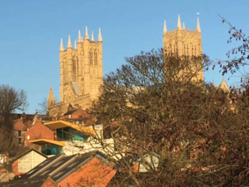 2 Bedrooms Penthouse Flat for sale in `NEW DEVELOPMENT with CATHEDRAL VIEWS` Penthouse 2, 19 Hungate, Lincoln, LN1