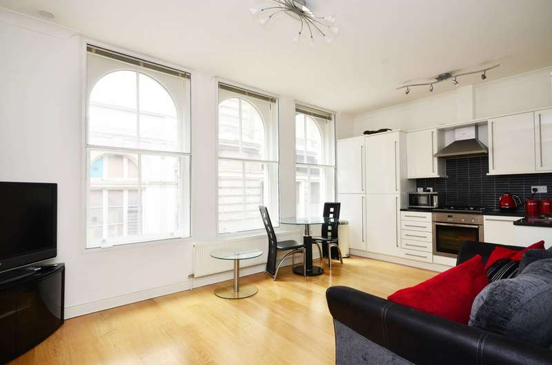 1 Bedroom Flat for sale in Villiers Street, Charing Cross, WC2N