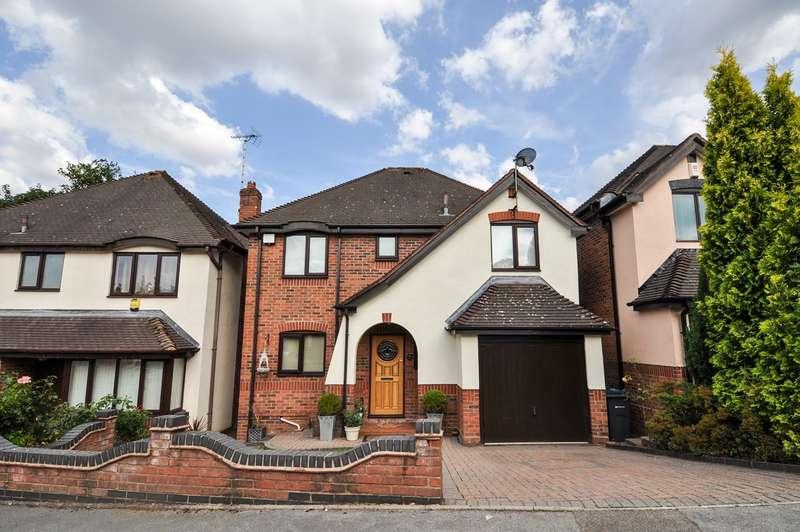 4 Bedrooms Detached House for sale in Nortune Close, Kings Norton, Birmingham, B38