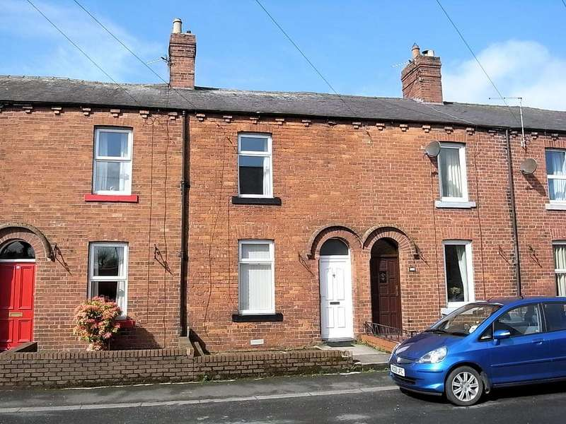 2 Bedrooms Terraced House for sale in 16 Esk Bank, Longtown , Carlisle CA6 5PT