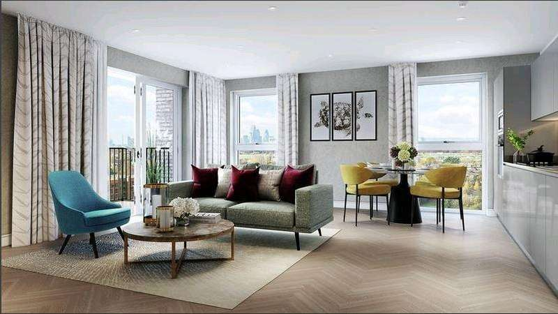 2 Bedrooms Apartment Flat for sale in Birch House, Kidbrooke, SE3