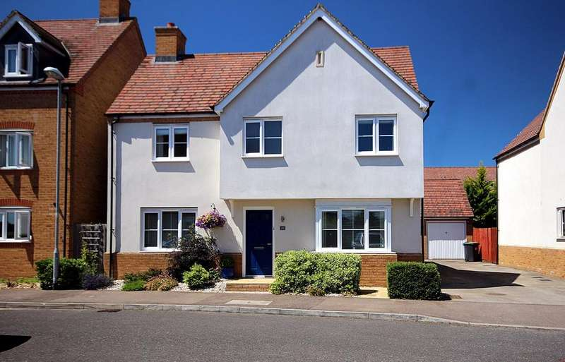 4 Bedrooms Detached House for sale in Garfield, Langford, SG18
