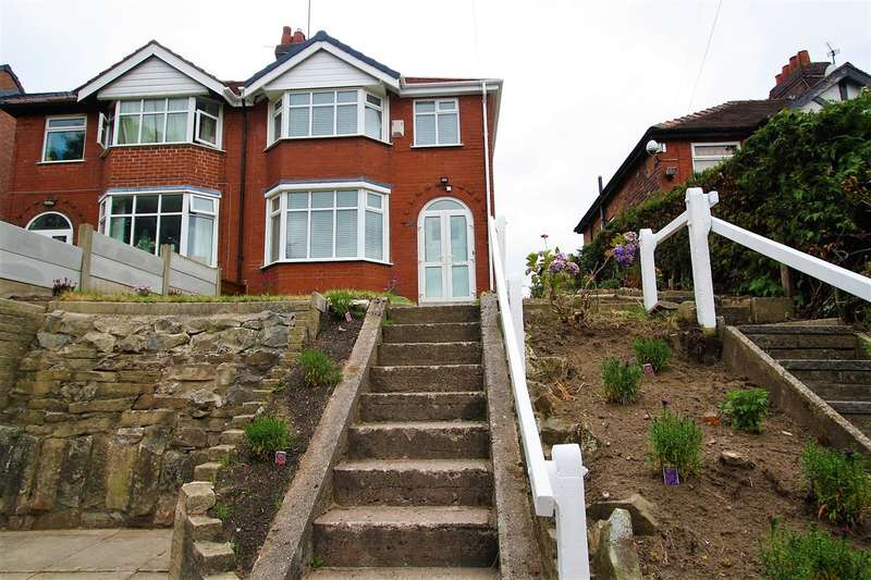 3 Bedrooms Semi Detached House for sale in Sandy Lane, Prestwich