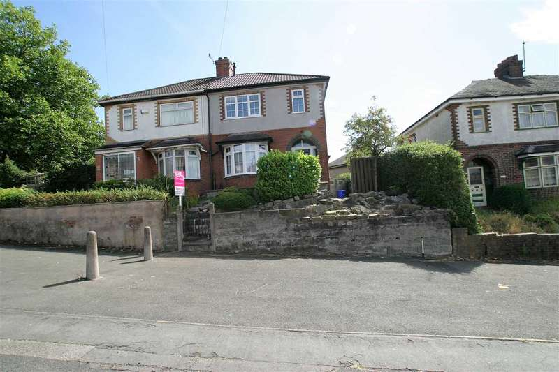 3 Bedrooms Semi Detached House for sale in Ruxley Road, Bucknall, Stoke on Trent