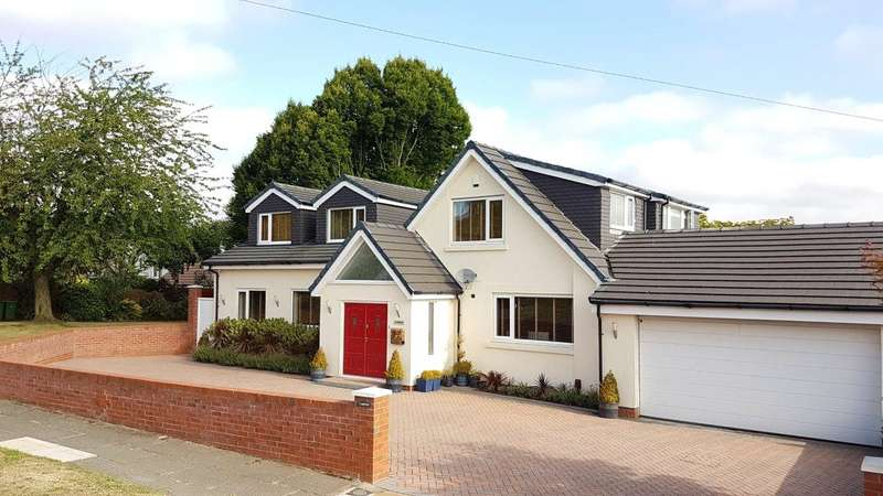5 Bedrooms Detached Bungalow for sale in Heath Close, Woolton, Liverpool, L25