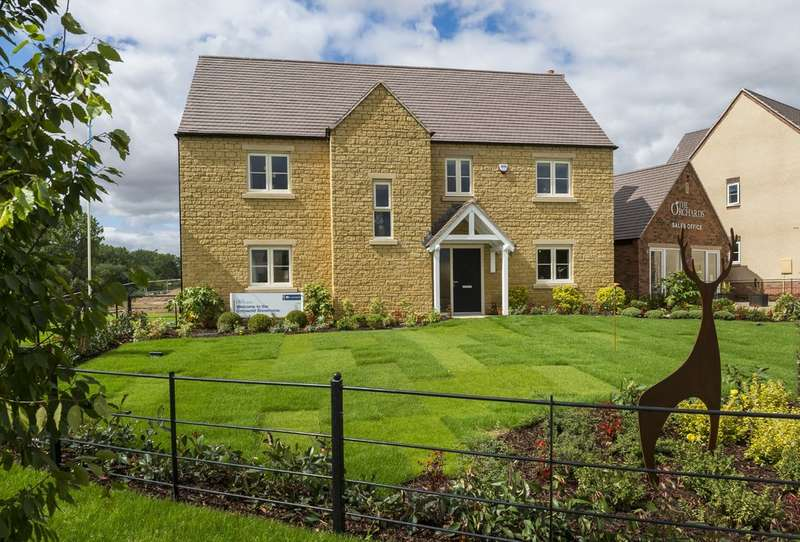 5 Bedrooms Detached House for sale in Plot 27, The Cotswold, The Orchards, Tredington