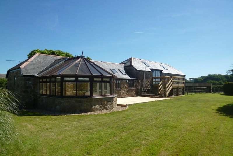 5 Bedrooms Barn Conversion Character Property for sale in Tredavoe Lane, Newlyn, Penzance