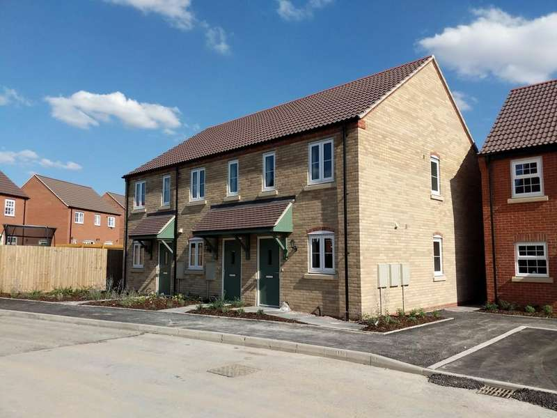 2 Bedrooms Terraced House for sale in David Todd Way, Bardney, Lincoln