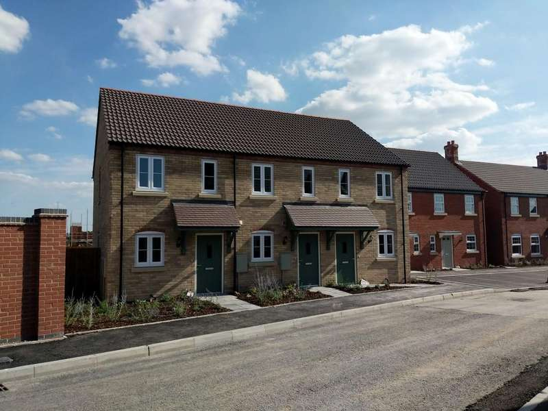 2 Bedrooms End Of Terrace House for sale in David Todd Way, Bardney, Lincoln