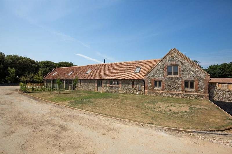 4 Bedrooms Barn Conversion Character Property for sale in Chalk Hill Farm Barns, Binham Road, Warham, Wells-next-the-Sea, NR23