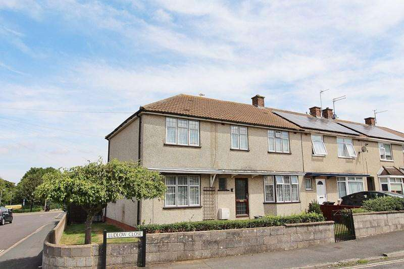4 Bedrooms End Of Terrace House for sale in Ludlow Close, Keynsham, Bristol