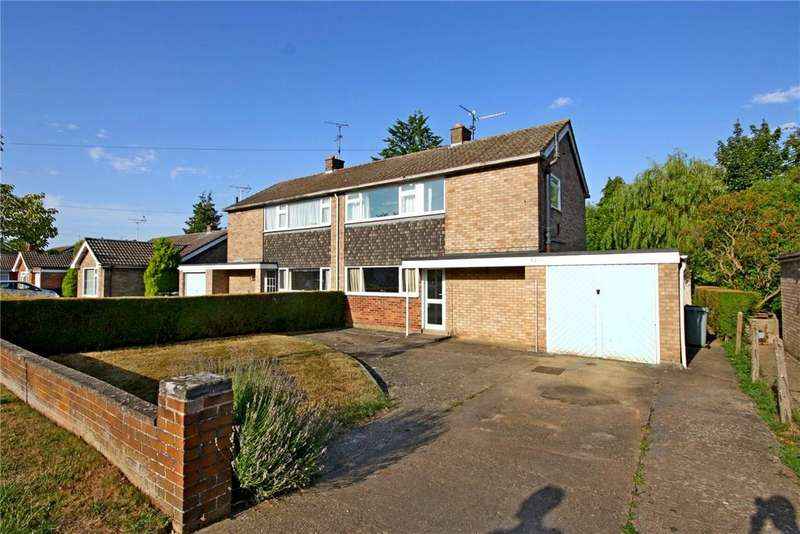 3 Bedrooms Semi Detached House for sale in Westwood Drive, Bourne, PE10