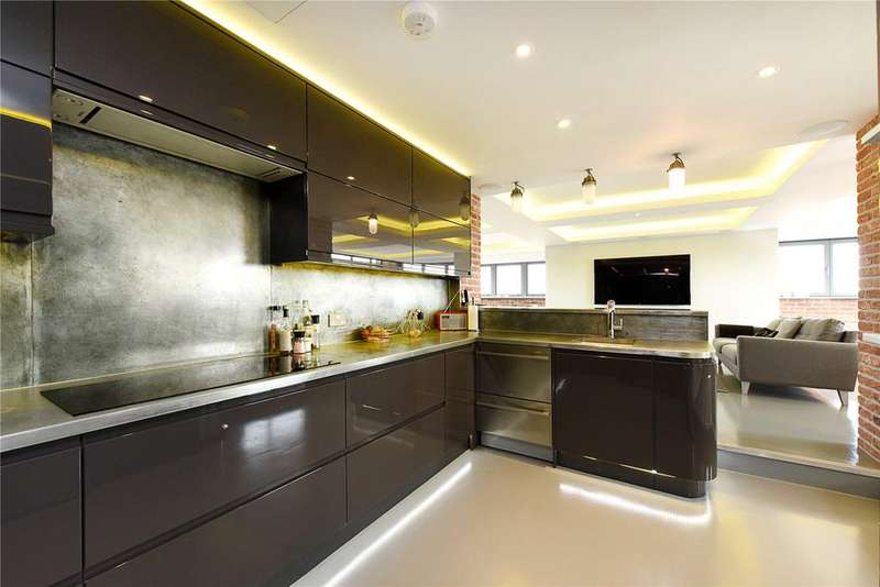 4 Bedrooms Penthouse Flat for sale in Gun Place, 86 Wapping Lane, London, E1W