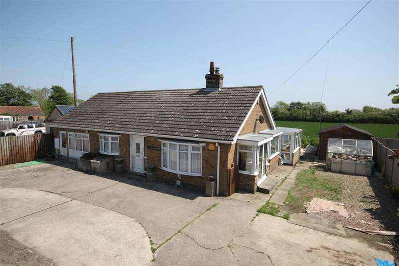 5 Bedrooms Detached Bungalow for sale in Hogsthorpe Road, Mumby, Alford