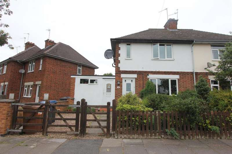 2 Bedrooms Semi Detached House for sale in Strathmore Road, Hinckley