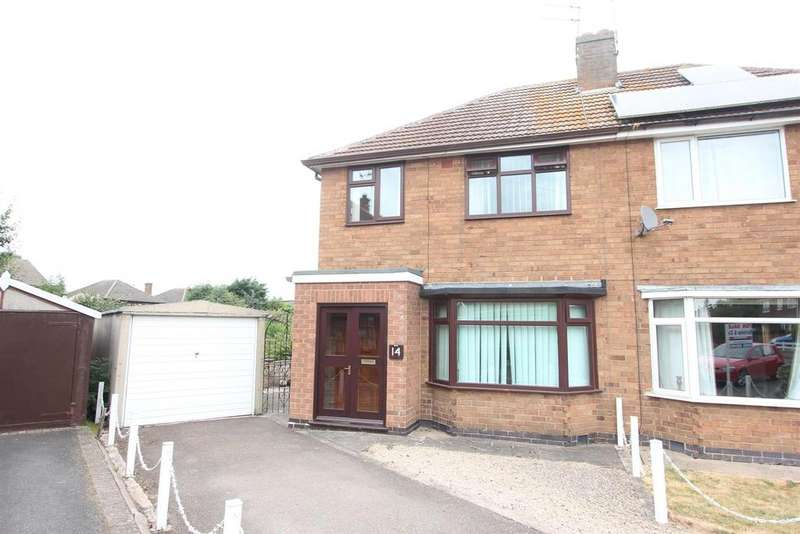 3 Bedrooms Semi Detached House for sale in Penfold Close, Sapcote