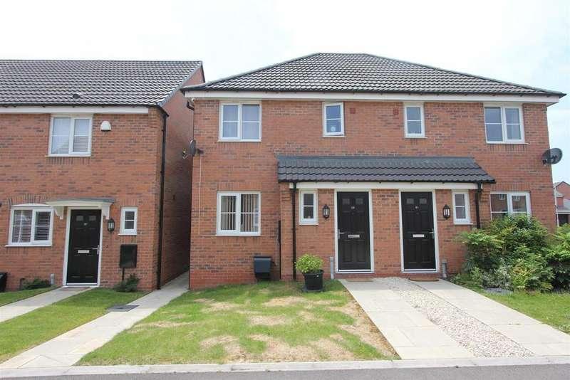3 Bedrooms Semi Detached House for sale in Indigo Drive, Burbage, Hinckley