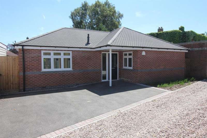 2 Bedrooms Detached Bungalow for sale in Trafford Road, Hinckley