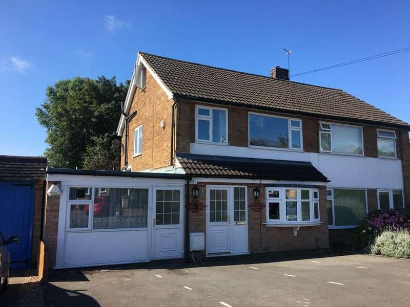 3 Bedrooms Semi Detached House for sale in Everest Drive, Melton Mowbray, LE13 0SH