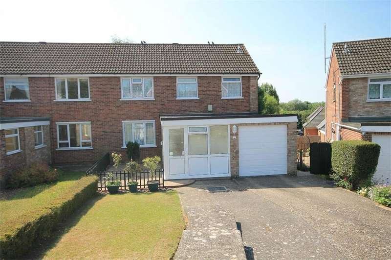 3 Bedrooms Semi Detached House for sale in Ashwood Drive, NEWBURY, RG14