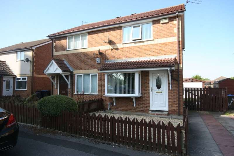 2 Bedrooms Semi Detached House for sale in Netherfields Crescent, Middlesbrough, TS3