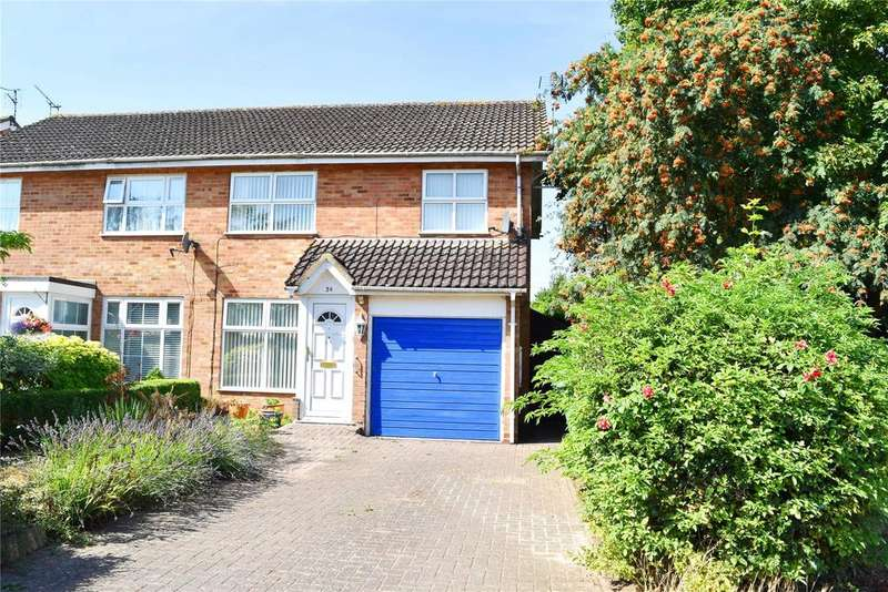 2 Bedrooms Semi Detached House for sale in Orion Way, Leighton Buzzard